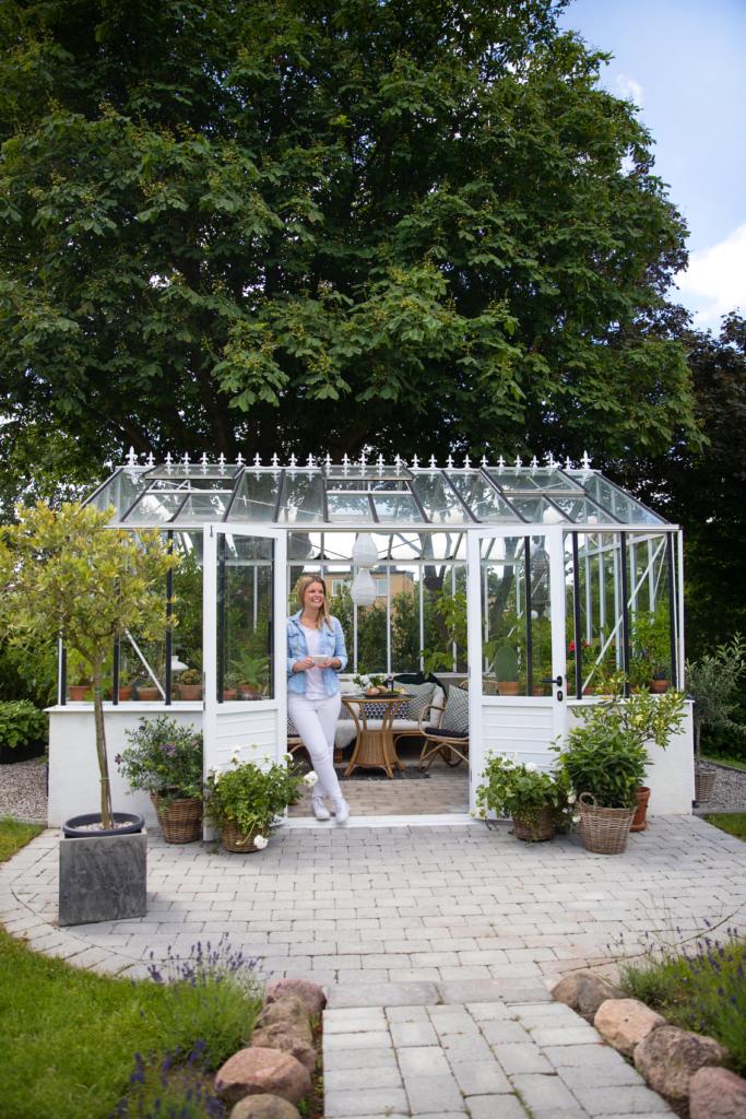 Växthus på mur