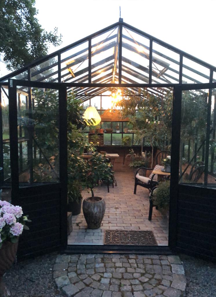 Växthuset - ett rum för alla årstider.
