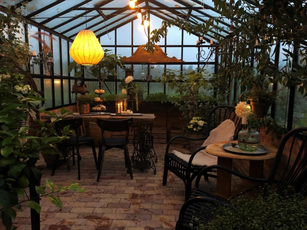 Belysning i växthuset