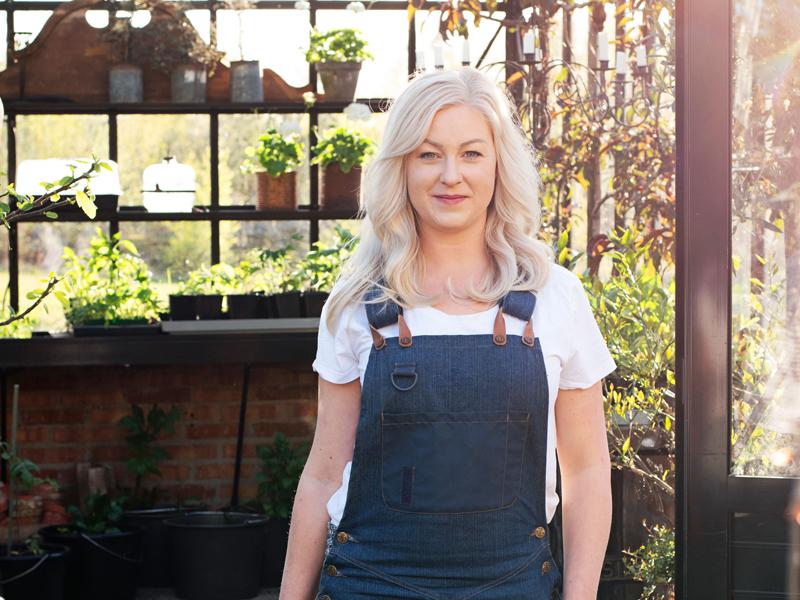 Rebeccas växthusliv.