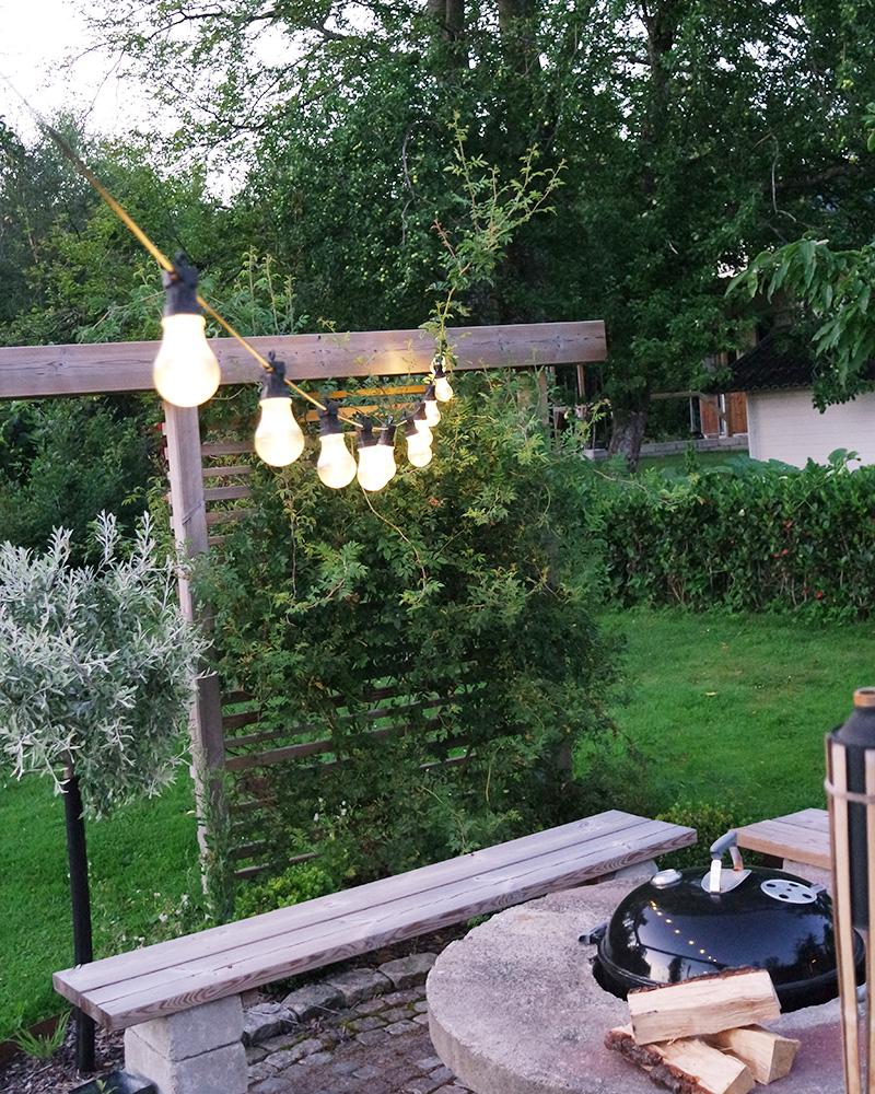 Semesterprojekt - Rama in trädgården och bygg rum